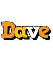 Dave cartoon logo