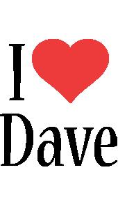 Dave i-love logo