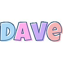 Dave pastel logo