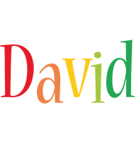 David birthday logo