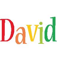 David birthday logo