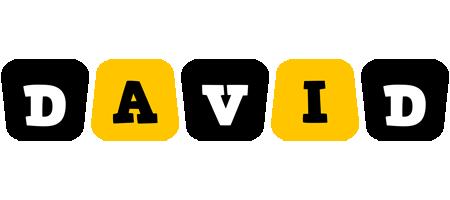 David boots logo