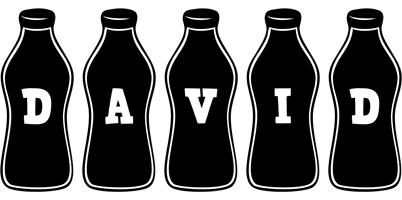David bottle logo