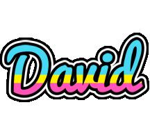 David circus logo