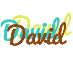 David cupcake logo