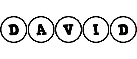 David handy logo