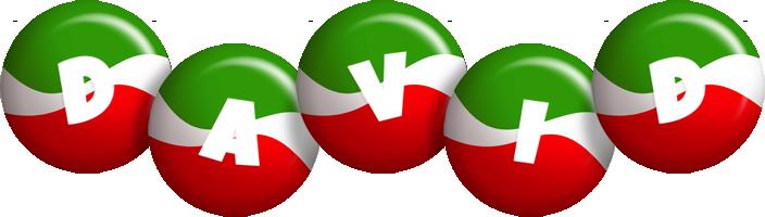 David italy logo