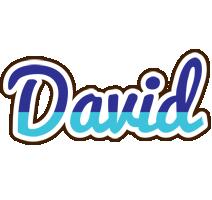 David raining logo