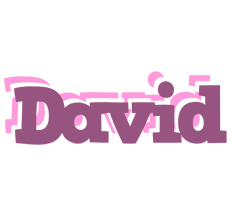 David relaxing logo