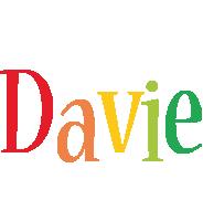 Davie birthday logo