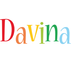 Davina birthday logo