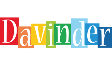 Davinder colors logo