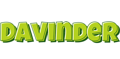 Davinder summer logo