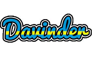 Davinder sweden logo