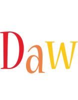 Daw birthday logo