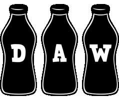 Daw bottle logo