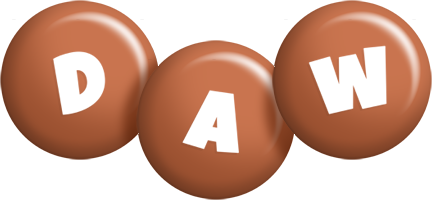Daw candy-brown logo