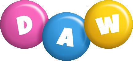 Daw candy logo