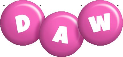 Daw candy-pink logo