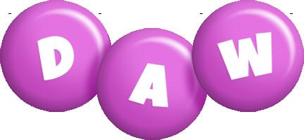 Daw candy-purple logo