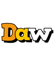 Daw cartoon logo