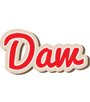 Daw chocolate logo