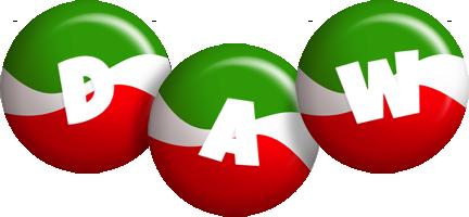 Daw italy logo