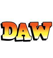 Daw sunset logo