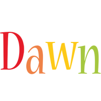 Dawn birthday logo