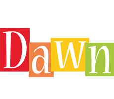 Dawn colors logo