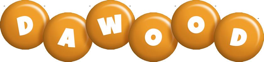 Dawood candy-orange logo