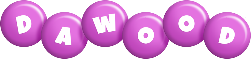 Dawood candy-purple logo