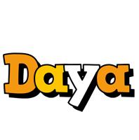 Daya cartoon logo