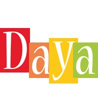 Daya colors logo