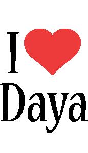 Daya i-love logo