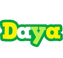 Daya soccer logo