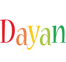 Dayan birthday logo
