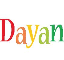 Dayan birthday logo