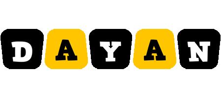 Dayan boots logo