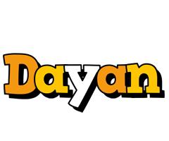 Dayan cartoon logo