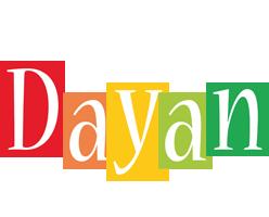Dayan colors logo