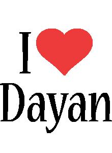 Dayan i-love logo