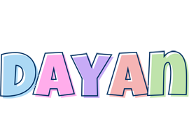 Dayan pastel logo