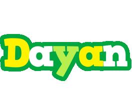 Dayan soccer logo