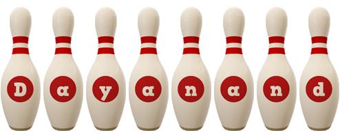 Dayanand bowling-pin logo