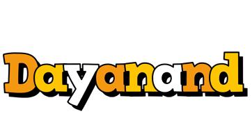 Dayanand cartoon logo