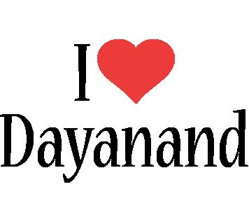 Dayanand i-love logo