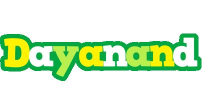 Dayanand soccer logo