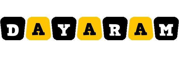 Dayaram boots logo