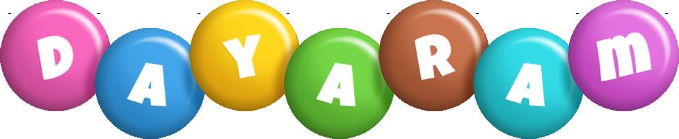 Dayaram candy logo